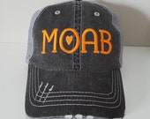 Moab Embroidered Hat with...