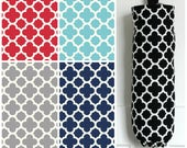 Quatrefoil Grocery Bag Holder Made with Riley Blake Home Decor Fabric