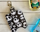Skeleton Hand Sanitizer Holder