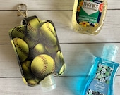 Softball Hand Sanitizer Holder