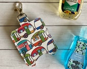Camper Hand Sanitizer Holder