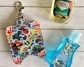 Monster Truck Hand Sanitizer Holder