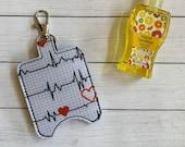 Heartbeat Hand Sanitizer Holder