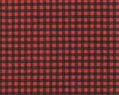 PREORDER: Grocery Bag Holder In Red and Black Buffalo Plaid Home Decor Fabric