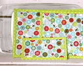 4 pc Hot Pad/Potholder/Tr...