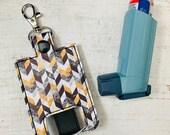 Classy Chevron Inhaler Case