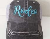 Rodeo Embroidered Hat wit...