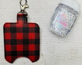 Buffalo Plaid Hand Saniti...