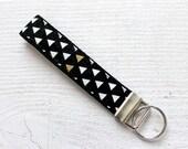 Key Fob Wristlet with Bla...