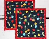 2 pc Hot Pad/Potholder/Tr...