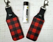 Buffalo Plaid Lip Balm Ho...
