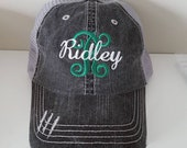 Ridley Embroidered Hat...