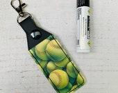 Softball Lip Balm Holder...