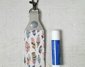Feather Lip Balm Holder...