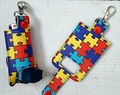 Autism Puzzle Inhaler Case