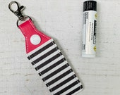 Stripes Lip Balm Holder w...