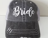 Bride Embroidered Hat wit...