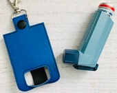 Blue Vinyl Inhaler Case...