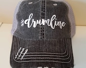 Drumline Embroidered Hat with Choice of Thread Colors