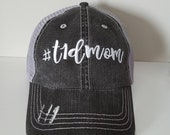 T1D Mom Embroidered Hat with Choice of Thread Color