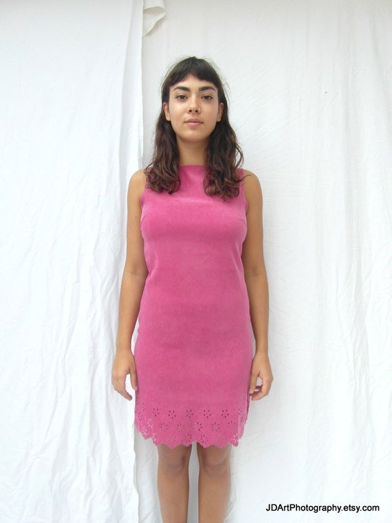 """GORGEOUS WIGGLE DRESS BY NEXT UK-12 IN PINK//BLACK BUST 36/"""" HIPS 38/"""" NEW.W.T"""