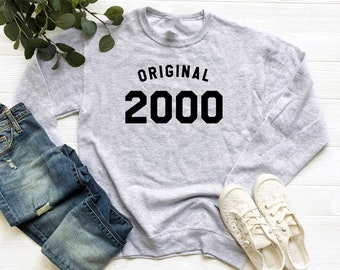 19th Birthday Sweatshirt 2000 Sweater Women Party Shirt Girl Fashion Gifts Teen Outfits For Tshirt