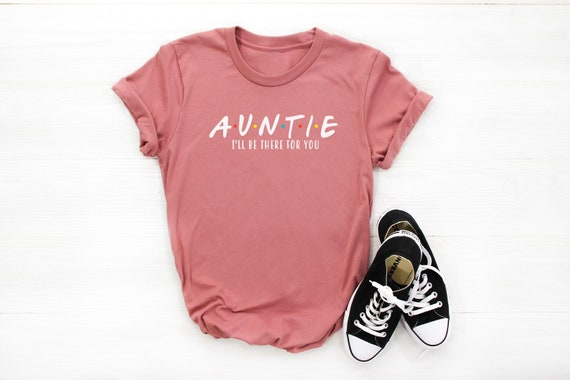 Auntie T-Shirt Aunt Tshirt Like A Mum Only A Lot Cooler Shirt Auntie Gift Women