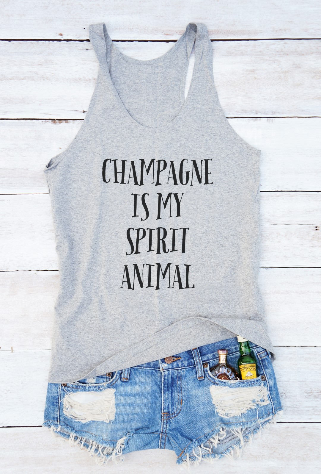 Champagner ist mein Geist Tier Hemd Mode lustigen Stil lustige   Etsy