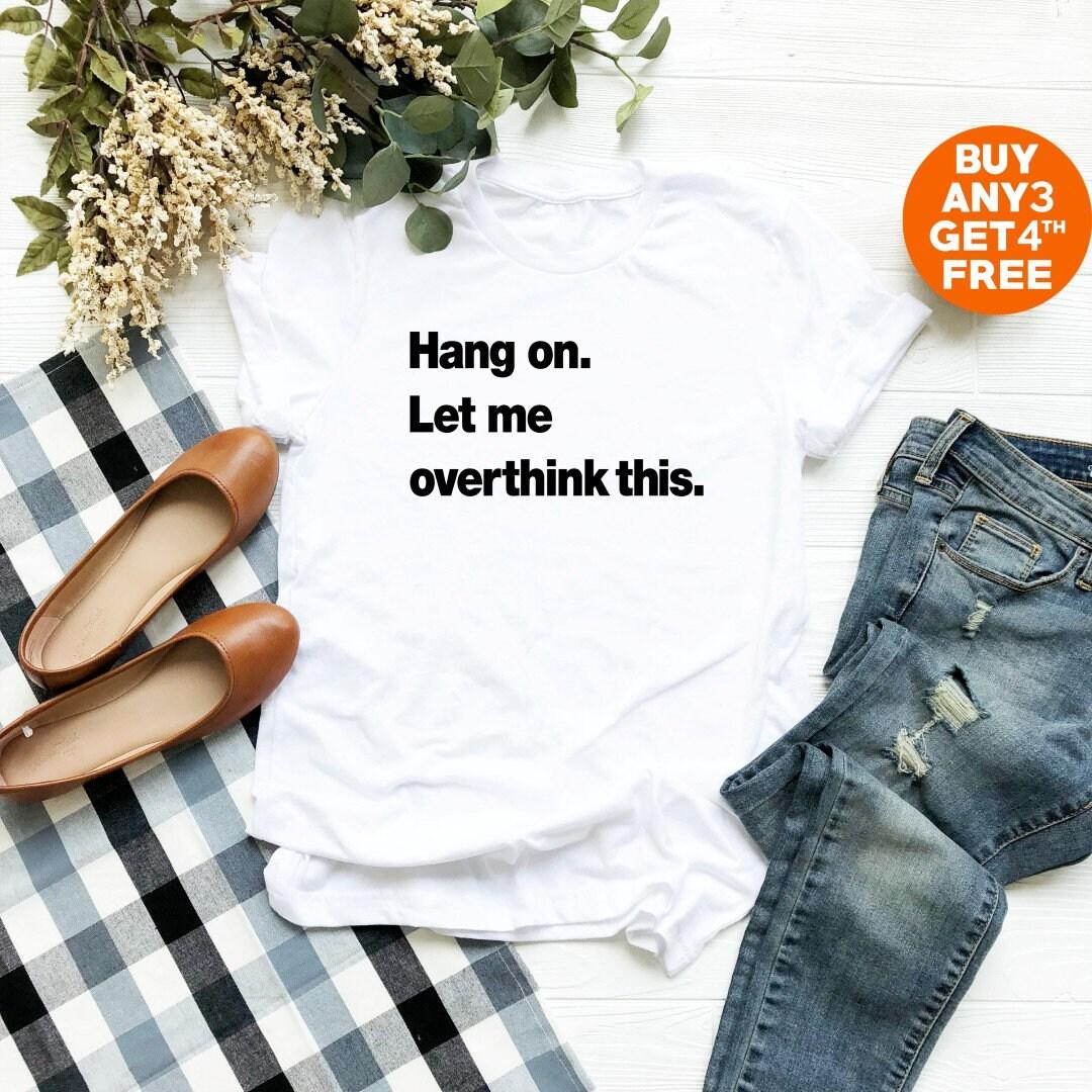 Accrocher sur me laisser pencher ce tshirt slogan rigolo graphique cadeaux ADO fille hipster devis tumblr tees graphique rigolo ras du cou chemise tshirt homme chemise femme 5548ce
