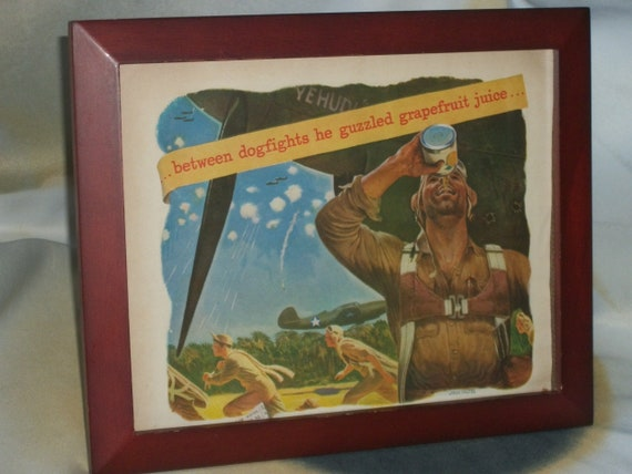 1940 S Gfruit Juice Wwii Pilots, Better Homes And Gardens Wall Decor