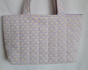Purple Hand Carder Bag