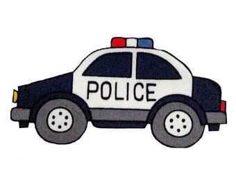 Vehicles Police Car Serve /& Protect Police Embroidered Iron On Patch