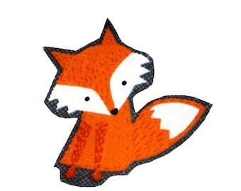 Fox Iron On Fabric Transfer Applique - 864