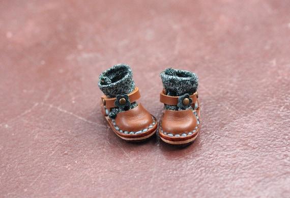 34af1780dd5e7 Mary Jane shoes No.MJL11 Neemo/Neo Blythe , Color honey flower green