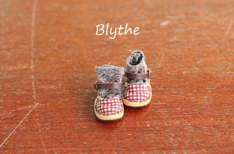 da2eabb30f039 Mary Jane shoes no.MJg05 Neemo/Neo Blythe , color Scottish Purple