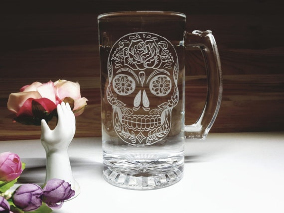 Your Flower of Life Pint Glass Love