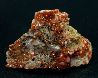 Raw Crystals and Stones Large Mexican Fire Opal in Matrix Specimen 6.5 Inch Rocks and Minerals Opals Raw Opal Stone Rough