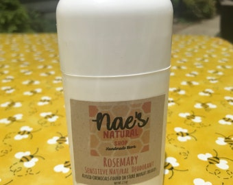 Natural Rosemary Deodorant | Aluminum Free | Chemical Free
