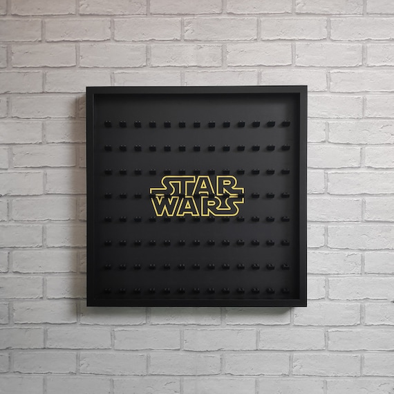 keep minifigs safe /& dust free Lego Star Wars Set of 3 Plastic Display Cases