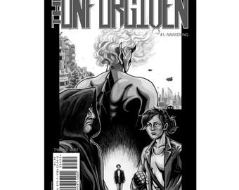 "Indie comic book The UNFORGIVEN #1.1: ""Awakening"" original autographed comic book (Second Printing)"