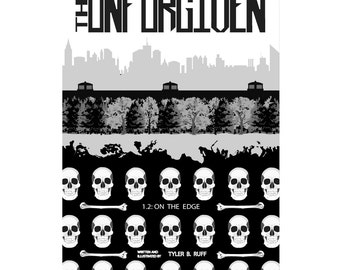 """Indie comic book The UNFORGIVEN #1.2: """"On The Edge"""" original autographed comic book"""