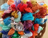 10 skeins Pk - Embroidery Floss  - 10 skeins - cross stitch floss