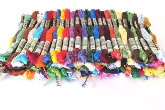 75 écheveaux - de DMC - écheveaux Made in France - Original DMC - vous choisissez les couleurs - 456 couleurs disponibles 760703