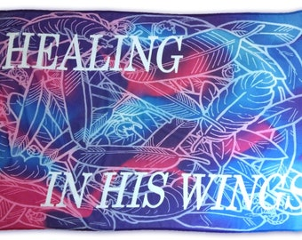 50% Off Healing Worship Flag with Sewn in Pole