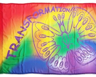 Transformation Worship Flag