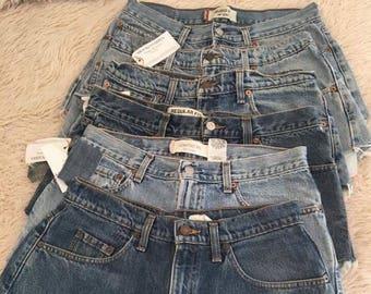 Levi Denim cutoff shorts (wholesale bundle)