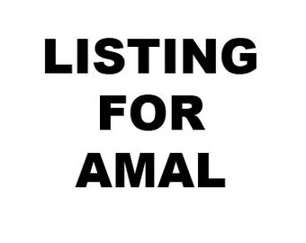 Private Listing for Amal