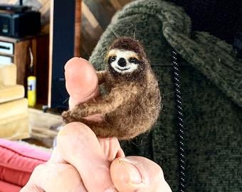 Needle Felted Sloth