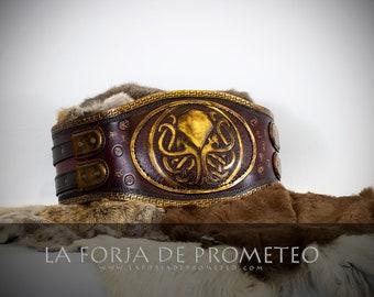 Barbarian Leather Belt, Medieval Wedding Belt, Leather Larp Belt, Viking Leather Belt, Steampunk leather belt, Celtic Leather Belt