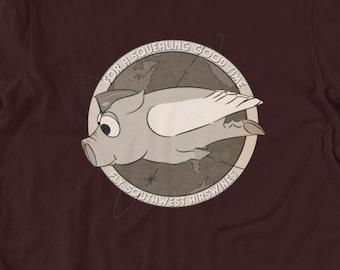 Pig T-Shirt Unisex (Support The Piggies!)
